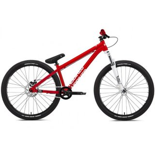 NS BIKES ZIRCUS PUMPTRACK/FUNBIKE RED