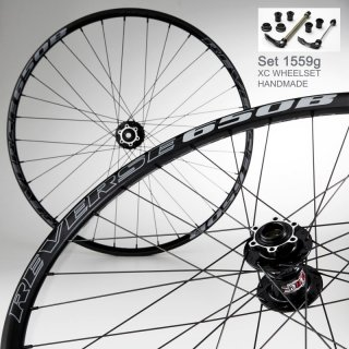 REVERSE Wheelset 650B XC Multi Use, Black.Gray/Black